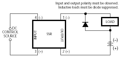 Flyback Diode On Solid State Relay